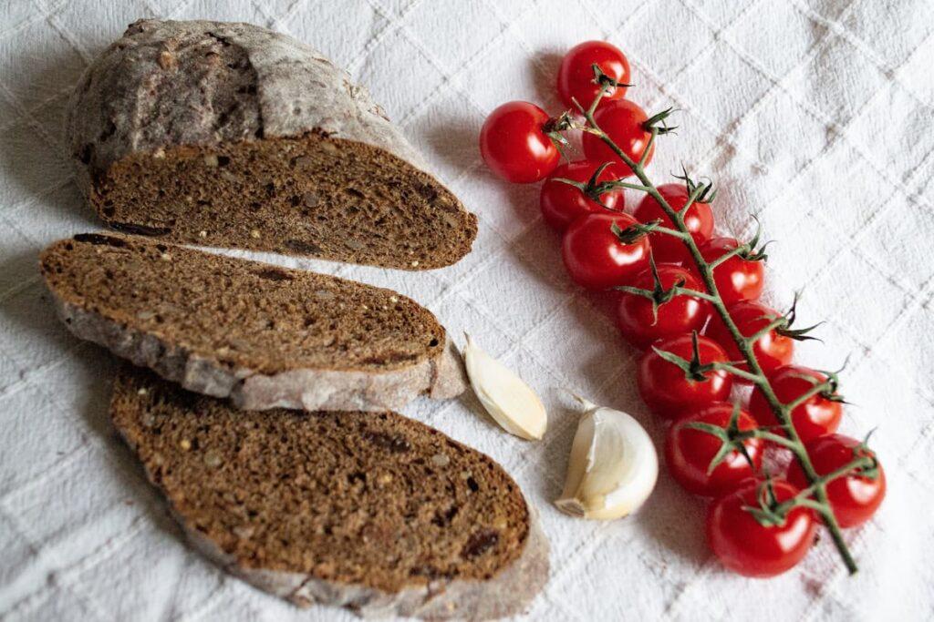 Alimentació saludable i pa